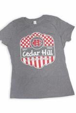 Gray Frost Cedar Hill Longhorns Tee
