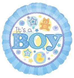 It's A Boy Mylar Balloon
