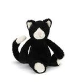 "Jellycat Bashful Black & White Kitten -12"" MEDIUM"