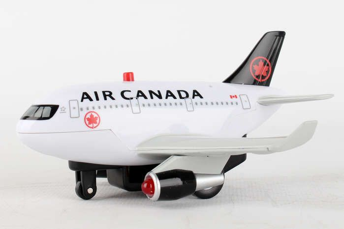 Air Canada Pull Back With Light & Sound