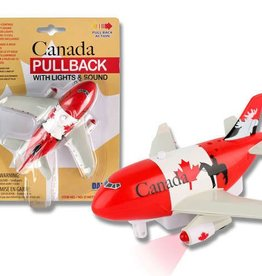Canada Pullback With Light And Sound