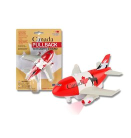 Canada Pullback Toy Airplane