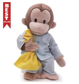 Gund Curious George In Pajmas 16""