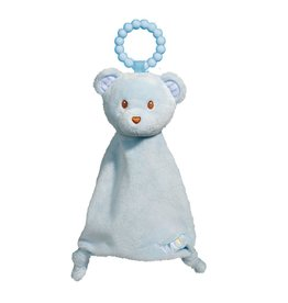 Douglas Blue Bear Lil Sshlumpie Teether