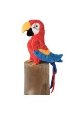 "Douglas Gabby Red Parrot  8"""