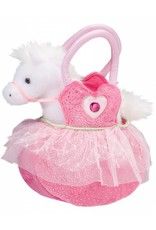 "Douglas Pink Ballerina Sak with Horse 7"""