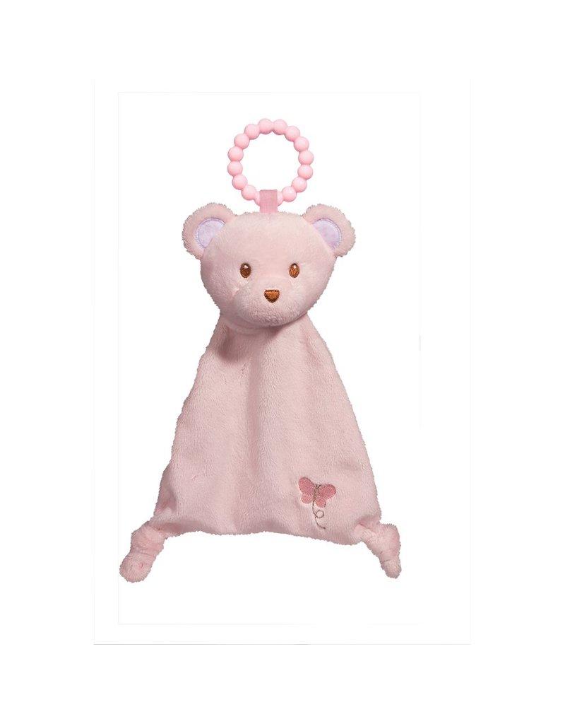 Douglas Pink Bear Lil Sshlumpie Teether