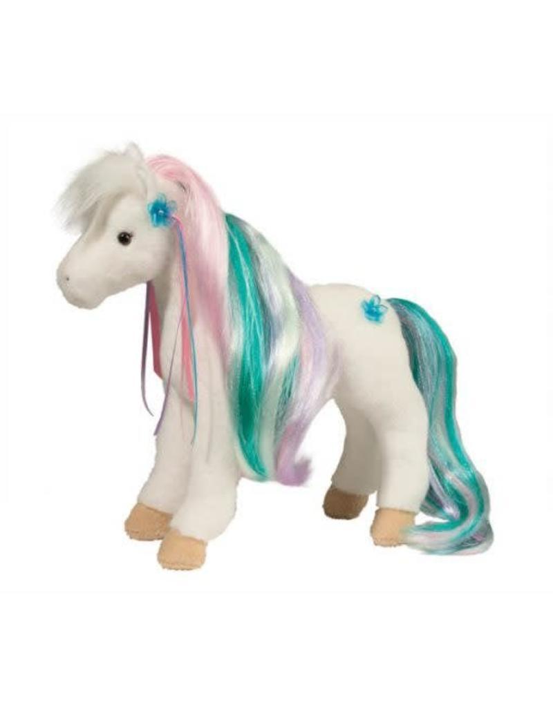Douglas Rainbow Princess White Horse