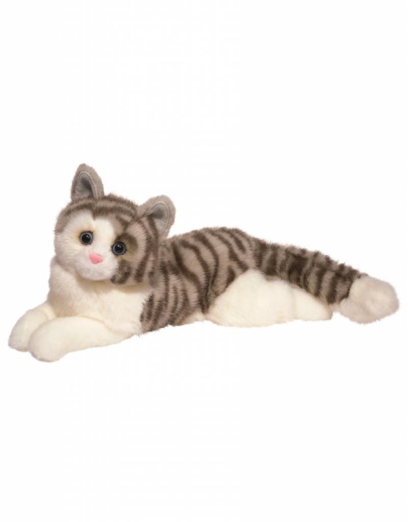 "Douglas Smokey Gray Cat 19"""