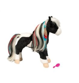 Douglas Warrior Princess Black/ White Horse