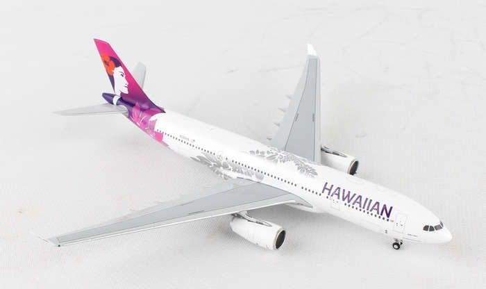 Gemini Hawaiian A330-200 1/400 New Livery