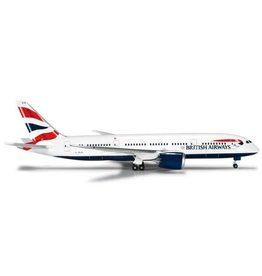 HERPA BRITTISH AIRWAYS 787-800 1/500