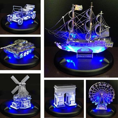 Metal Earth LED Base (Blue)