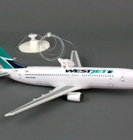 Westjet Flying Plane