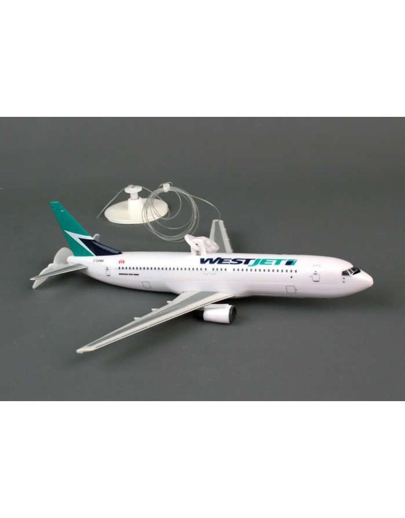 Westjet Flying Plane