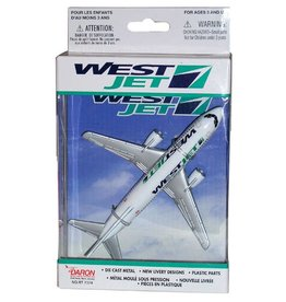 Westjet Single Plane  Toy