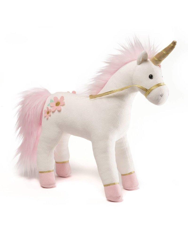"Gund Lilly Rose Pink Unicorn 15"""