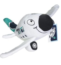 Westjet Chubby plush plane with sound
