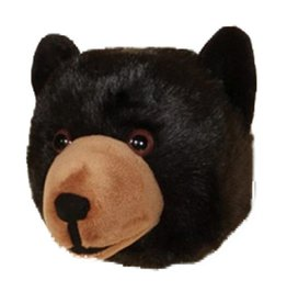 Wall Toy Black Bear Head Large