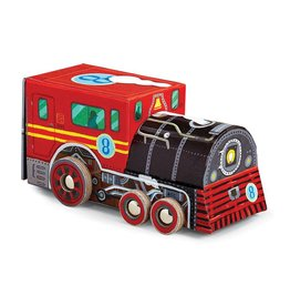 Vehicle Puzzle Locomotive 48PC