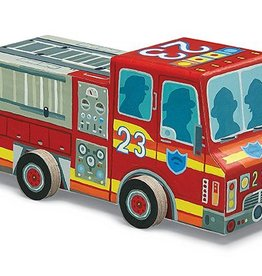 Vehicle Puzzle Fire Truck 48PC