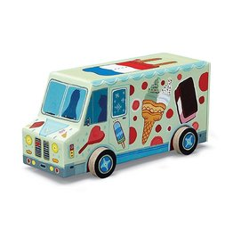 Vehicle Puzzle Ice Cream 48 Pc