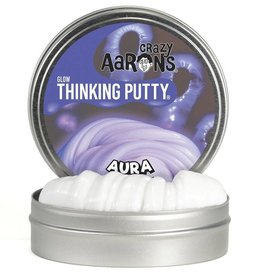 Crazy Aaron's Thinking Putty -Aura Glow in the Dark