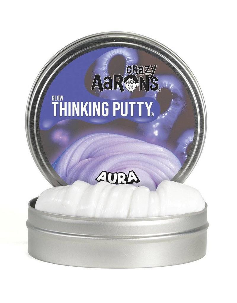 Crazy Aaron's Thinking Putty -Aura Glow in the Dark