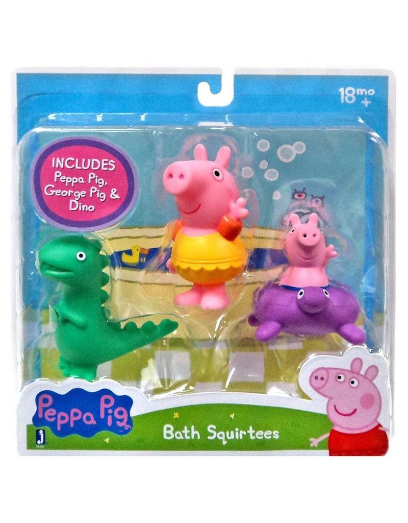 Peppa Pig 3 Pack of Bath Squirters