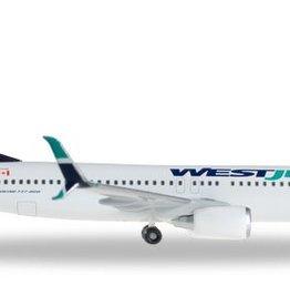 Herpa Westjet 737-800 1/500