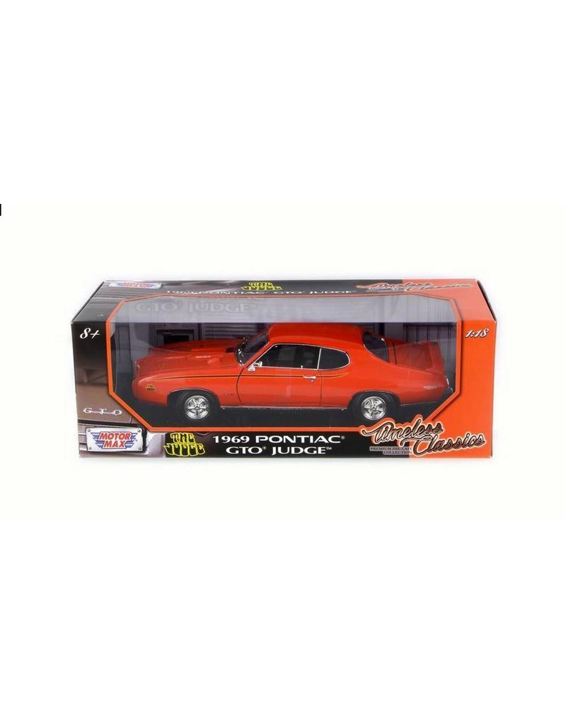 Pontiac GTO 69 The Judge 1:18