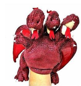 FOLKMANIS RED THREE HEADED DRAGON
