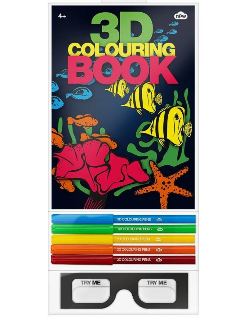 3D COLOURING BOOK