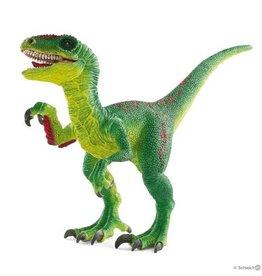 Schleich Velociraptor  Green