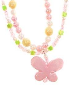 Spring Beauty Butterfly Necklace
