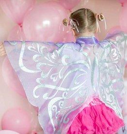 Organza Glitter Wings Lilac