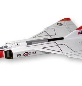 Avro Arrow CF-105 Red Mahogany Model