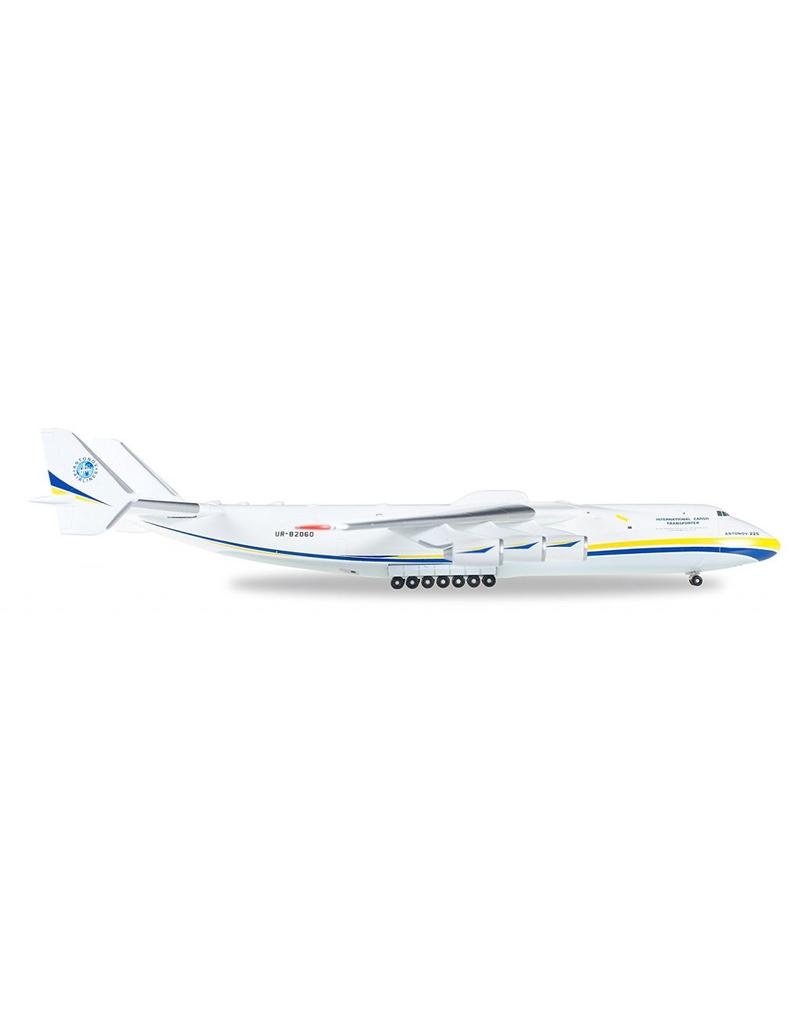Herpa Antonov AN225 1/400 Blue/Yellow