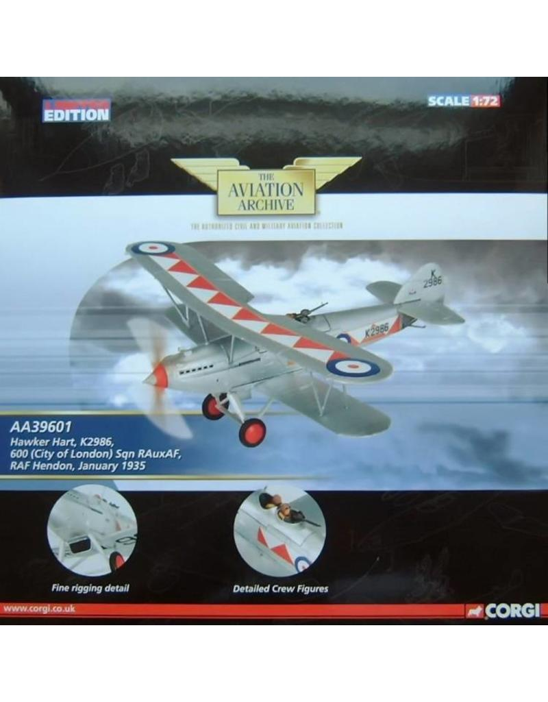CORGI HAWKER HART 1/72 LONDON