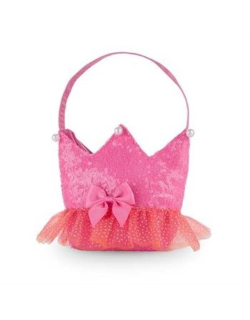 Forever Sparkle Crown Handbag Pink
