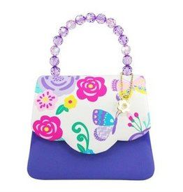 Secret Garden Hard Handbag Lilac