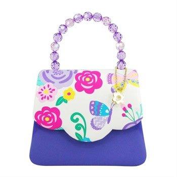 Secret Garden Hard Handbag Lilac