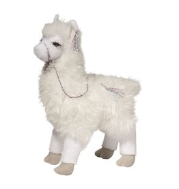 Douglas Evelyn White Stuffed Llama