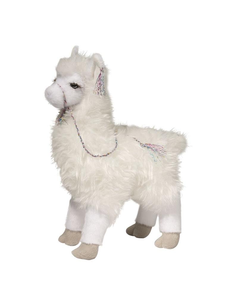 Douglas Evelyn White Stuffed Llama