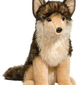 Douglas Leeloo Sitting Wolf Large