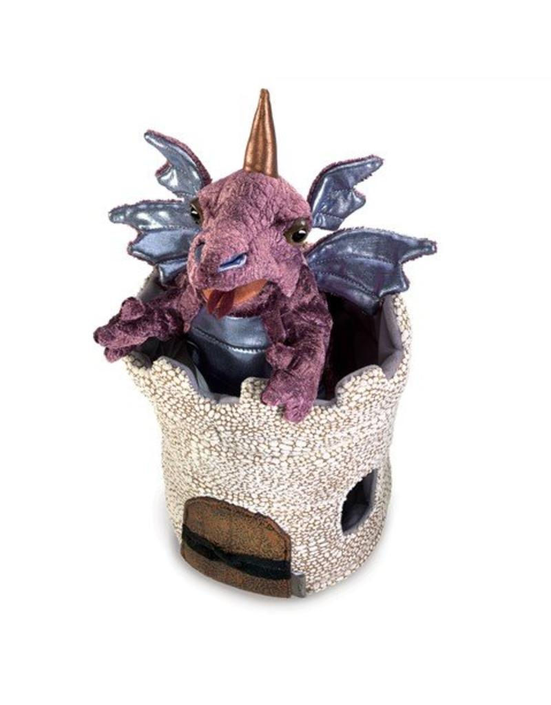 Folkmanis Dragon In Turret