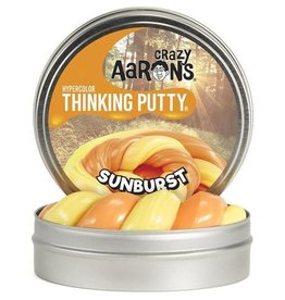 Crazy Aaron's Thinking Putty - Sunburst Heat Sensitive Hypercolor