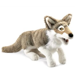 Folkmanis Gray Wolf Puppet