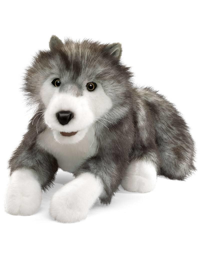 Folkmanis Timber Wolf Puppet