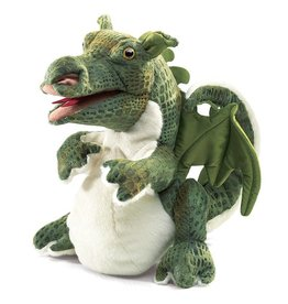Folkmanis Baby Dragon Puppet